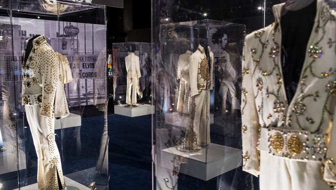 March 2, 2017 - Scenes from the grand opening of Elvis Presley's Memphis. The new complex is 200,000 square feet of new exhibits, museums and performance space behind Graceland Plaza, the longtime hub of mansion tours.