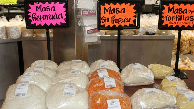 You can buy ready-to-use masa to make tortillas, tamales and other dishes at Los Altos Ranch Market.