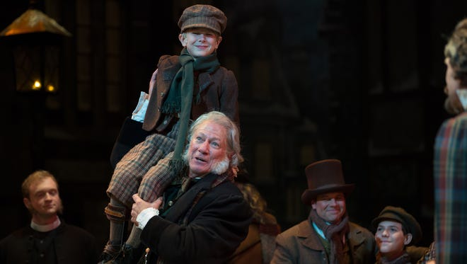 "Rodney Clark performs as Ebenezer Scrooge.  ""A Christmas Carol"" will be presented by Alabama Shakespeare Festival from Sunday through Dec. 24 in Montgomery."