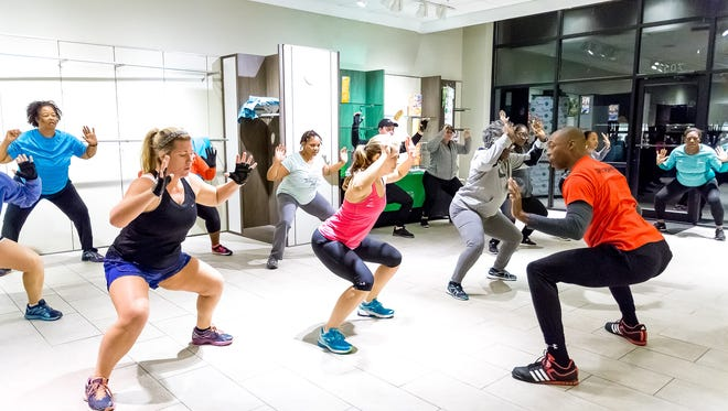 Starting Jan. 23, The Shoppes at EastChase will be home to free fitness classes led by staff of some of the Capital City's finest gyms. The program is in its second year.