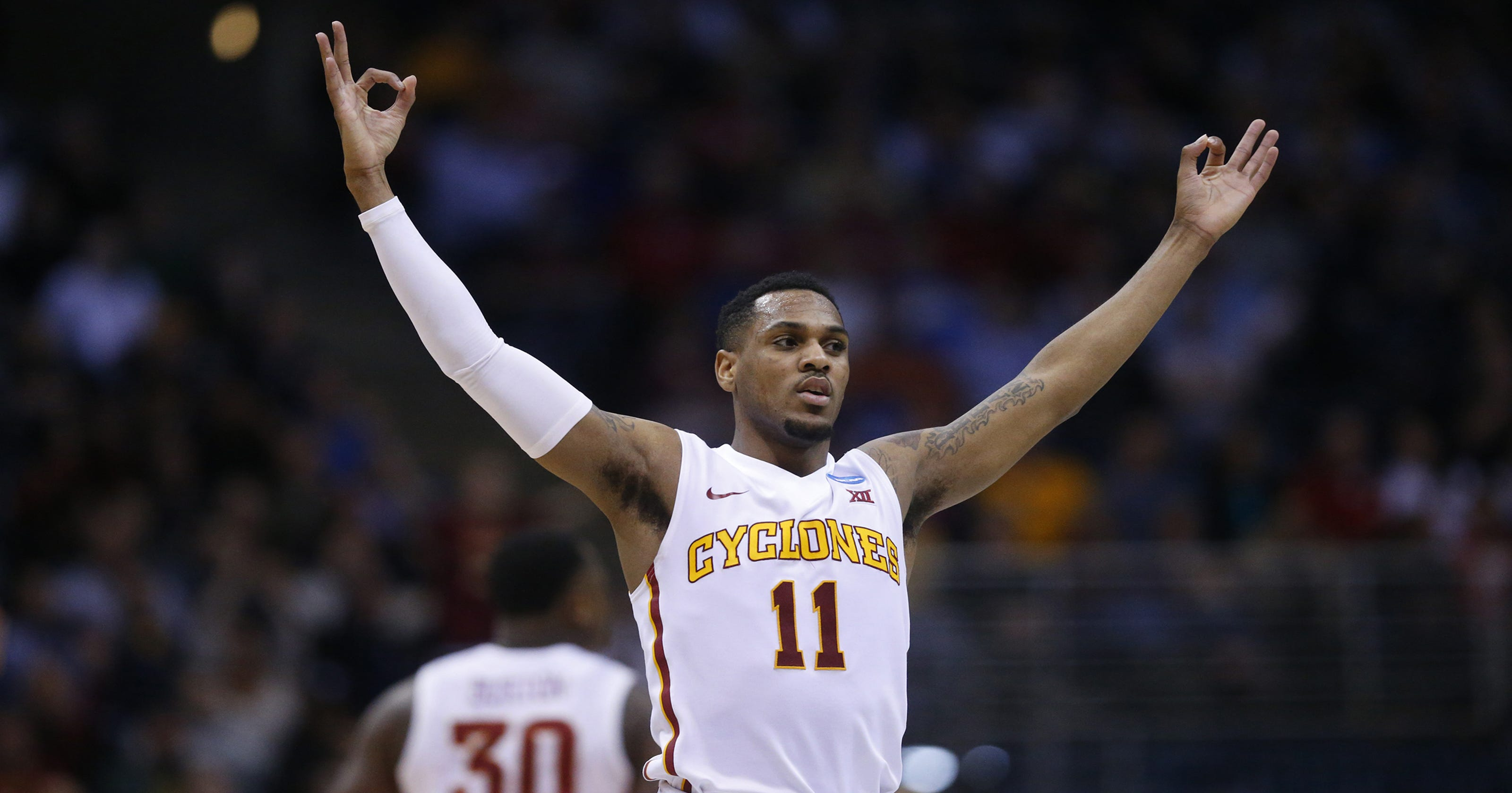 ed9499207 Former Cyclone star Monte Morris back in Iowa to play the Iowa ...
