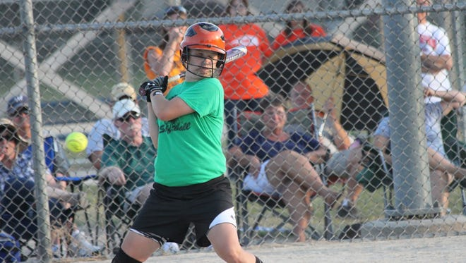 Softball girls from Oakfield, Brownsville, Mayville, NFDL, Lomira, Farmington, Kewaskum, Eden, and SMSA will play together when Fondy Youth Fastpitch League joins the Dual County League this summer.