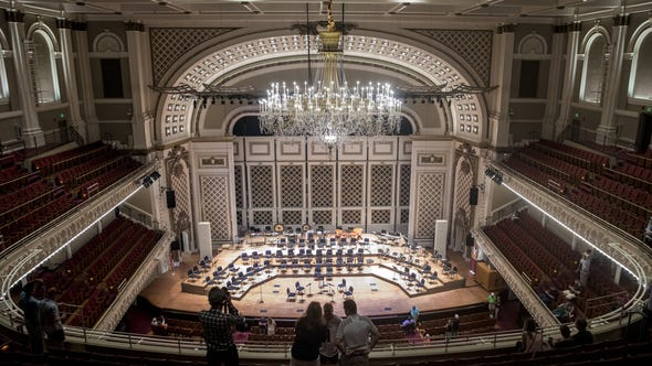 Inside Music Hall's renovated Springer Auditorium