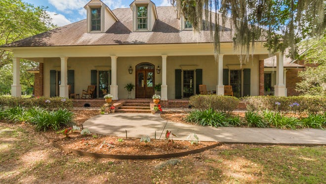 This 3 bedroom, 4 bath home is located at 4550 Chitimacha Trail in Jeanerette and is listed at  $1,387,000.