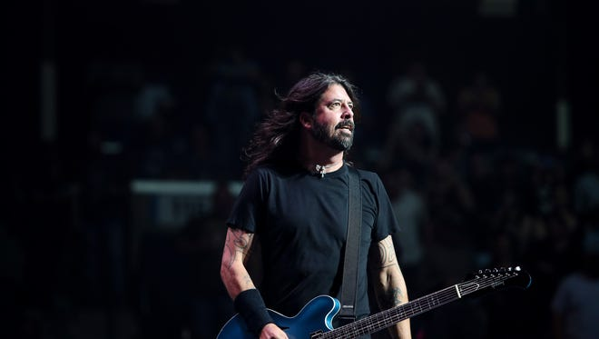 May 03, 2018 -  Dave Grohl and the Foo Fighters perform Thursday night at the FedExForum.