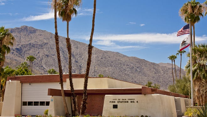 Fire station 4 in Palm Springs will undergo an extensive renovation. It has been closed since May 2016 due to asbestos and other hazards.