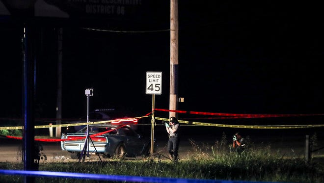 July 26, 2018 -The Tennessee Bureau of Investigation and Memphis police respond to an officer-involved shooting late Wednesday night in Whitehaven. According to TBI, DMario Perkins, 29, was shot and later died at Regional One Medical Center.