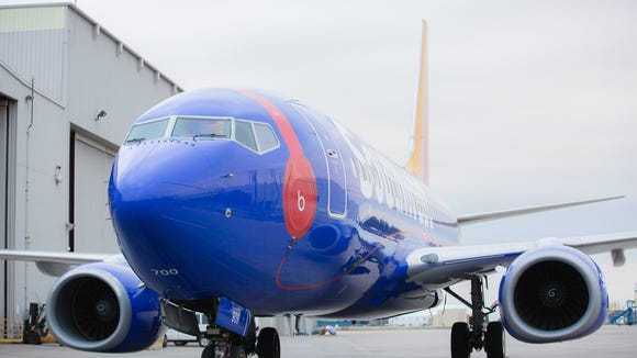 Southwest Airlines unveiled its newest specialty plane