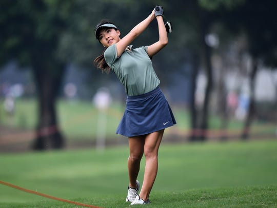 Muni He of China has finished in the Top-12 in three of her last four Symetra Tour events.