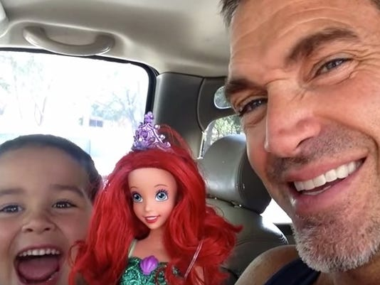 See How Dad Reacts To Son Picking Little Mermaid Doll