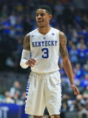 Tyler Ulis flashed a smile near the end of the Georgia game.