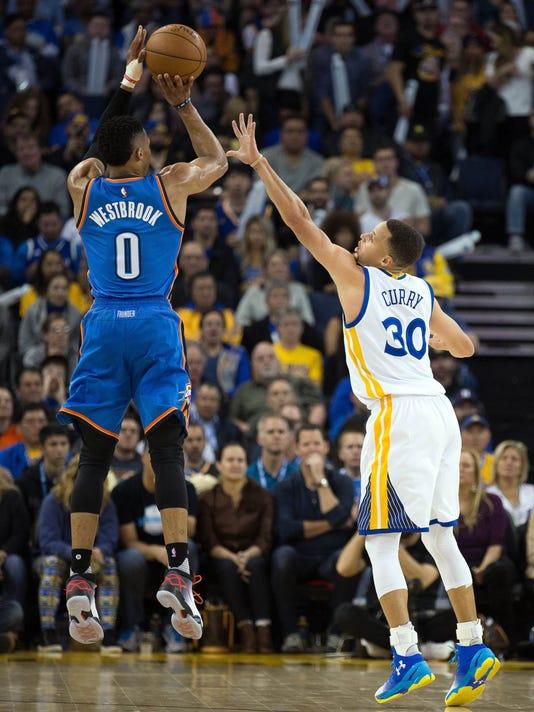 79ac2460f41 2016 NBA playoffs  Golden State Warriors vs. Oklahoma City Thunder