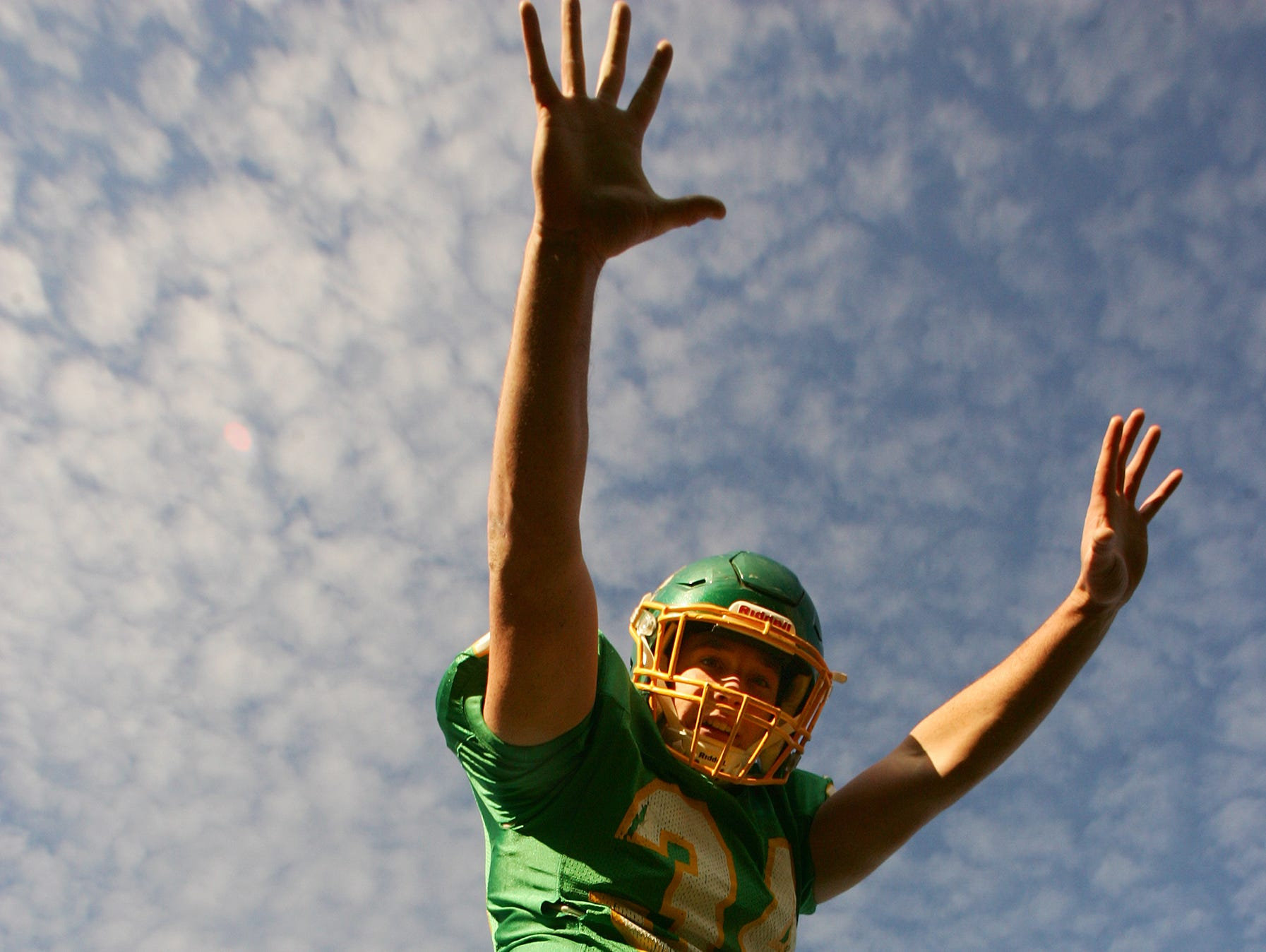 Newark Catholic linebacker Wes Jurden is The Advocate Defensive Player of the Year.