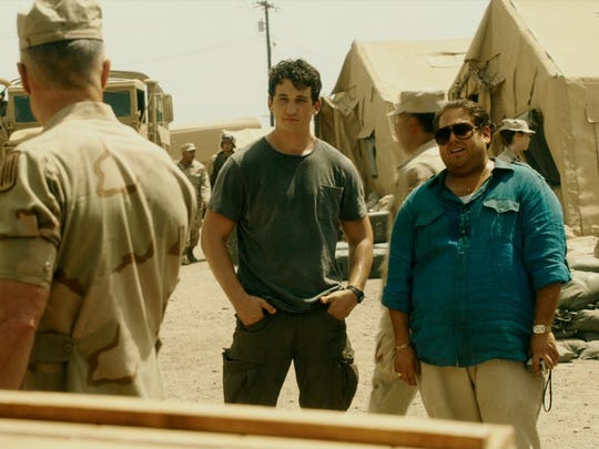"Miles Teller and Jonah Hill play young arms dealers in ""War Dogs."""