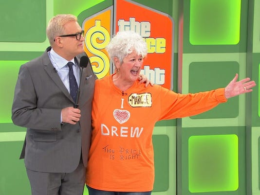 Drew Carey and Margie Gore