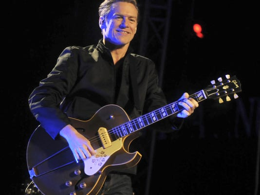 Canadian musician Bryan Adams performs a