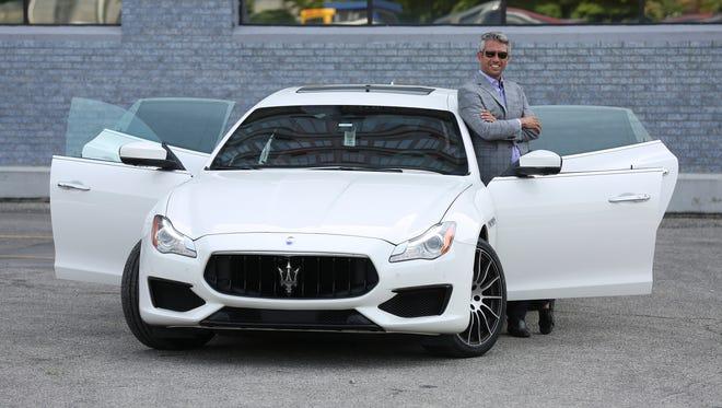 Jason Schmidt, owner of Derby City Dream Cars, shows off their Maserati Quattroporte GTS.June 8, 2018