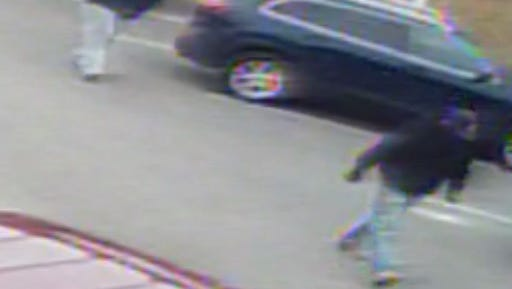 West York Borough Police released images of two men they say robbed a borough store on Wednesday morning.