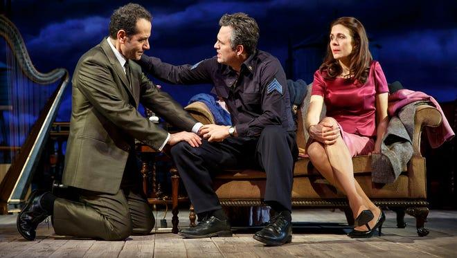 """Tony Shalhoub, Mark Ruffalo and Jessica Hecht in """"The Price."""""""