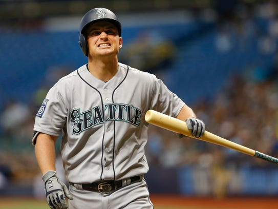 Kyle Seager started slowly for the Mariners in 2017,