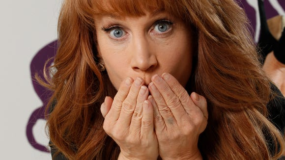 Kathy Griffin is under fire for a photo shoot where