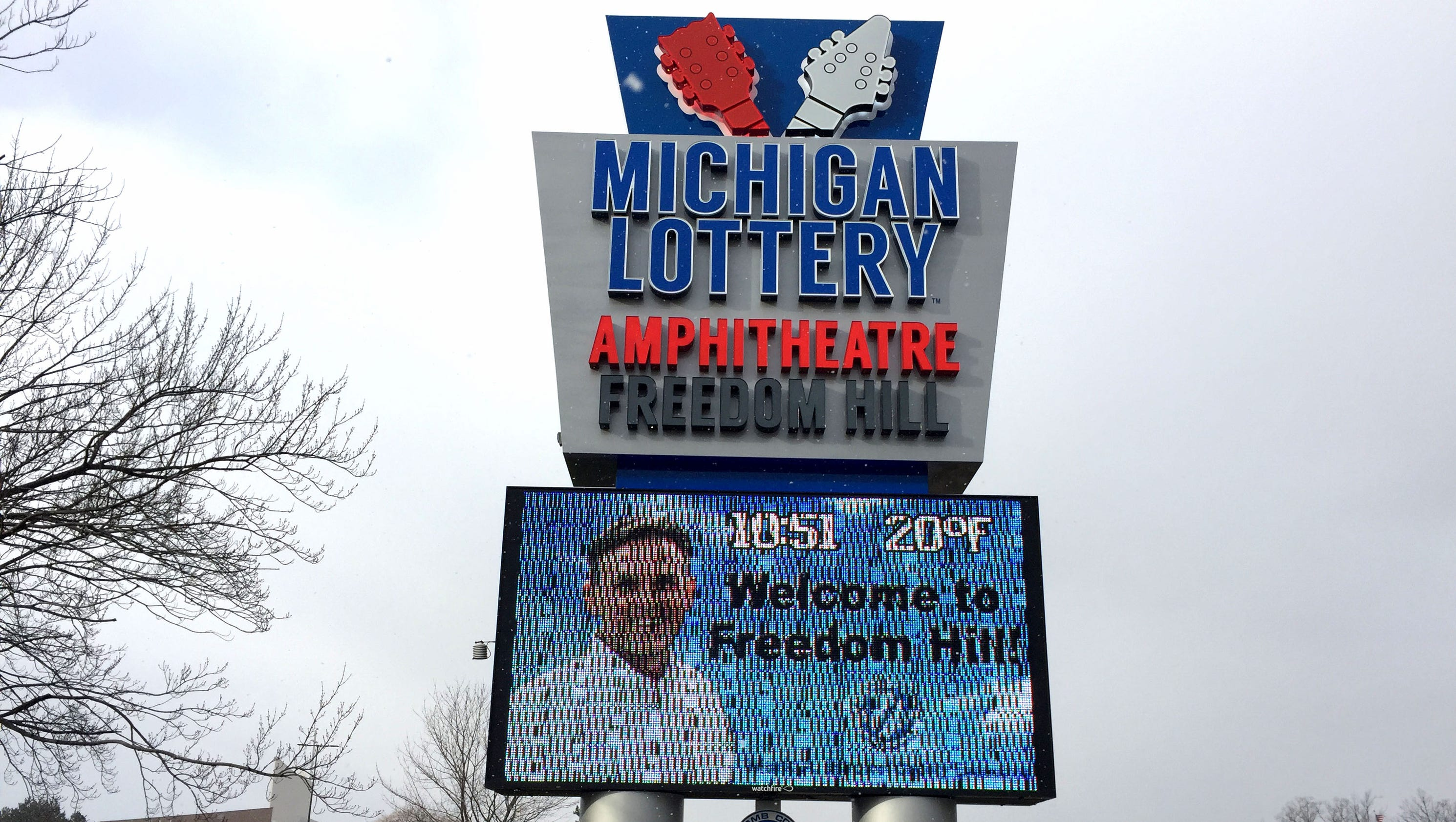 Michigan Lottery gives $900K sponsorship to amphitheater