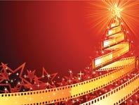Christmas tree film strip