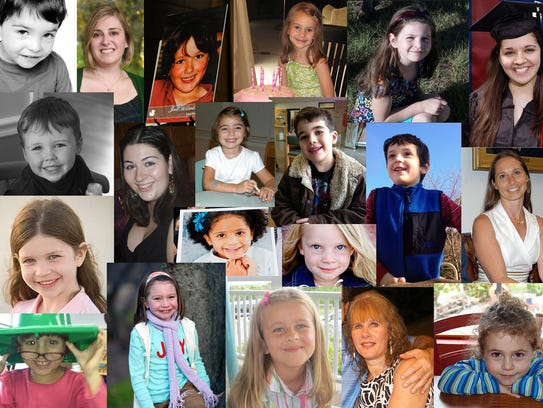 Some of the victims of the Sandy Hook Elementary School