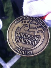 These are the medals the Mason band members are used