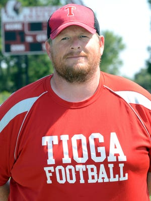 """Tioga football coach Patrick Garvin said West Ouachita """"just pounded"""" his team in a 33-13 home loss Friday night."""