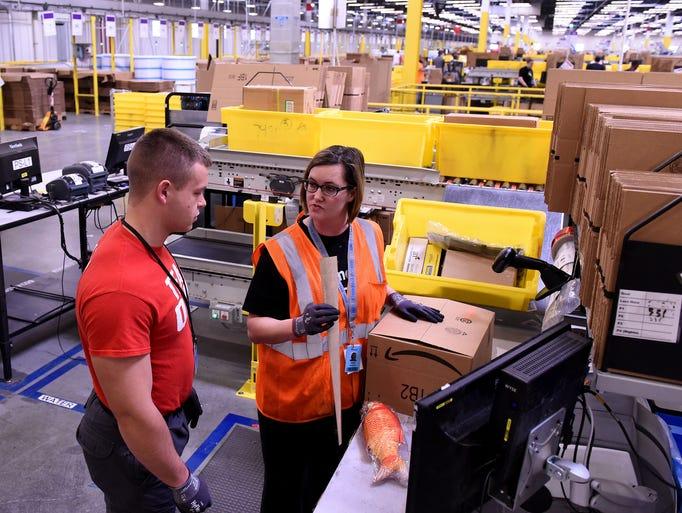 Amazon Fulfillment Center employee Heidi Henderly and