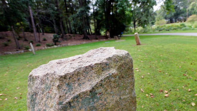 A reader wants to know the origin of four stones set up in a circle at Cleveland Park in Greenville.