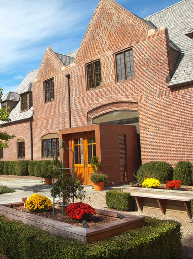 The front entrance of Ninety Acres, Natirar's highly-acclaimed destination restaurant complex.