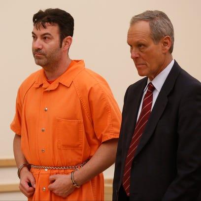 Dr. Ira Bernstein, left, with attorney Kenneth Gribetz,