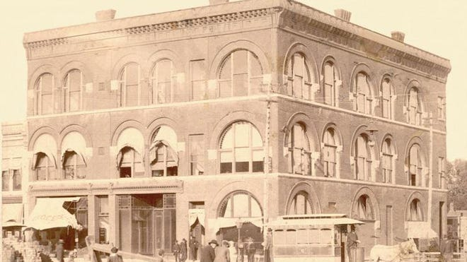 In 1887, Houston Whiteside and J.L. Penney were directors of the Valley State Bank and partnered to build the Whiteside-Penney building at 24-28 South Main.