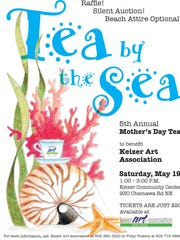 """Tea by the Sea,"" benefitting the Keizer Art Association, is set for May 19 at the Keizer Community Center."
