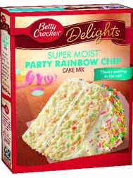 General Mills is recalling two varieties of its Betty Crocker Delights cake mixes due to potential E.Coli exposure
