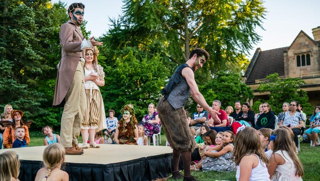 """Performances of """"A Midsummer Night's Dream"""" at the Paine Art Center and Gardens are Aug. 10 and 14, 2016."""