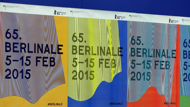 Posters for the International Film Festival Berlin, the Berlinale.