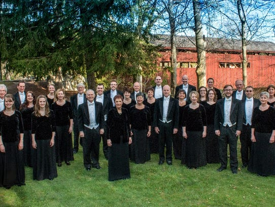 Susquehanna Chorale will perform Aug. 27. at St. John's