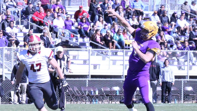 Western's Mitch Glasmann has broken a few RMAC records this year, and has one more week to continue to add to them.