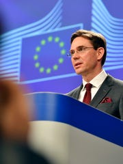 European Commission Vice-President Jyrki Tapani Katainen