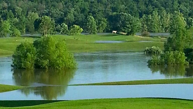 Rivercut Golf Course flooded Friday afternoon and is temporarily closed.