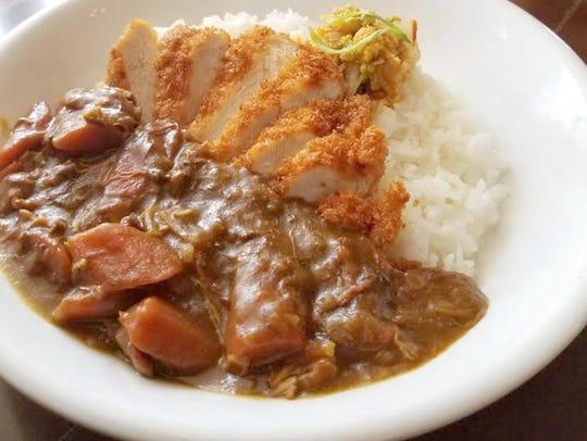 Dave's Chicken Katsu at Nobuo at Teeter House.