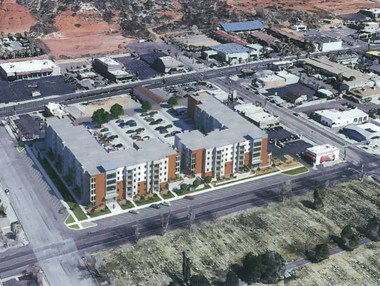 A student housing complex called 605 Place is slated