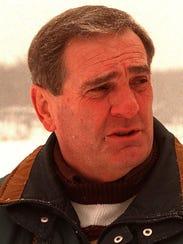 1996 file photo. Ron Parkinson lives across the lake