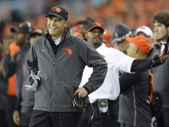 Mike Riley was 93-80 in 14 seasons as Oregon State's