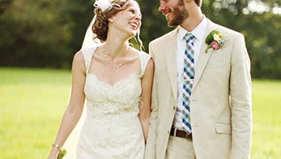 Amanda and Russell McMullen.