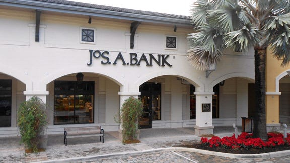 JoS. A. Bank store at the Shops at Midtown Miami in Miami, Fla.