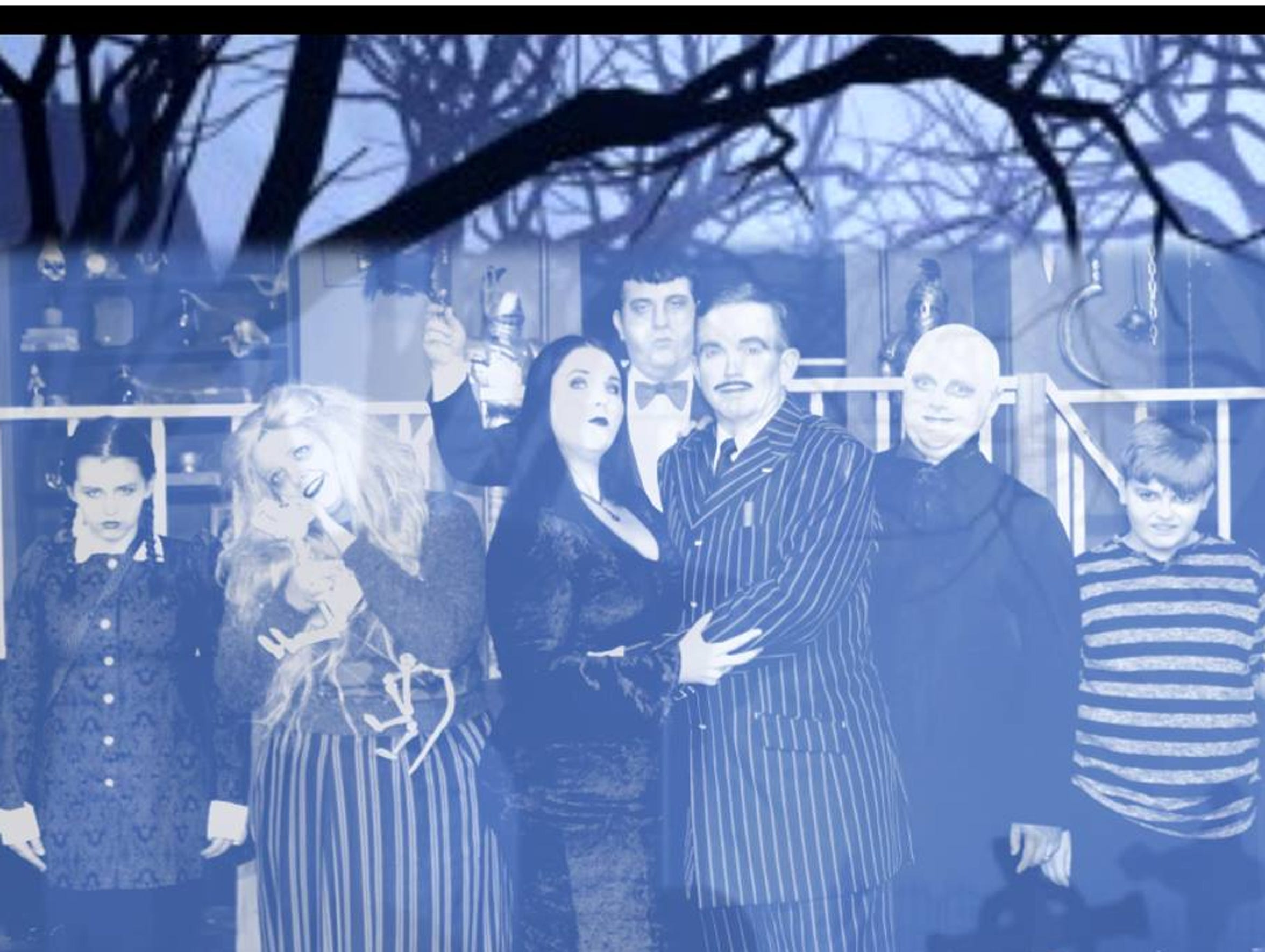 'The Addams Family' is on stage this weekend at Center
